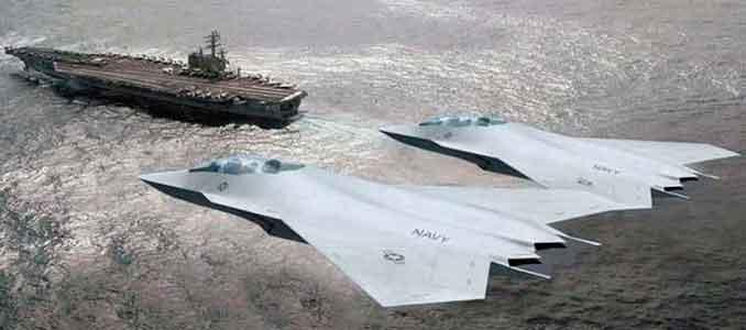 próximo avión de combate de la U.S. Navy