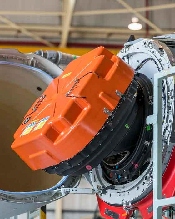 Radar AESA de un Eurofighter