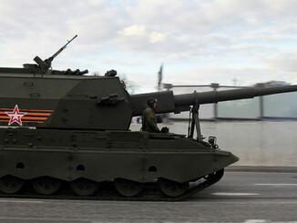 Obús autopropulsado ruso 2S35 Koalitsiya-SV