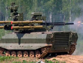Vehículo de combate antitanque ruso Uran-9