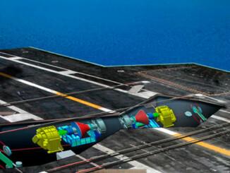 EMALS y AAG autorizados para los aviones de la Armada de EE.UU.