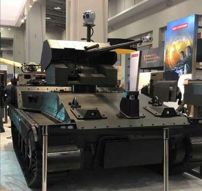 Demostrador tecnológico robótico de BAE Systems (RTD)