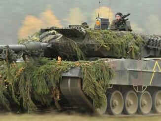 Carro de combate alemán Leopard A6