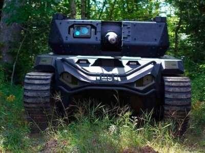 Vehículo de combate robótico Ripsaw M5 de Textron