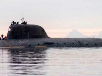 Submarino Proyecto 885 de la clase Yasen