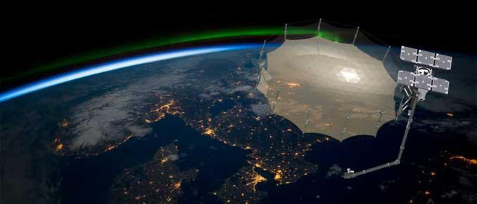 Imágenes de radar de apertura sintética. (Capella Space)