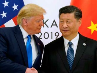 Xi Jinping. Donald Trump