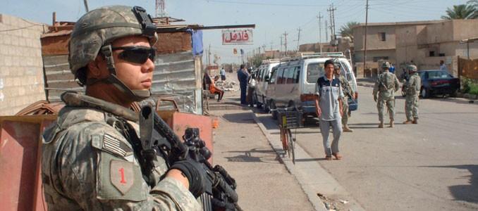 guerra de Irak control policial