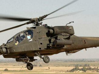 Helicóptero de ataque Apache AH-64