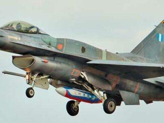 Cazabombardero F-16 griego