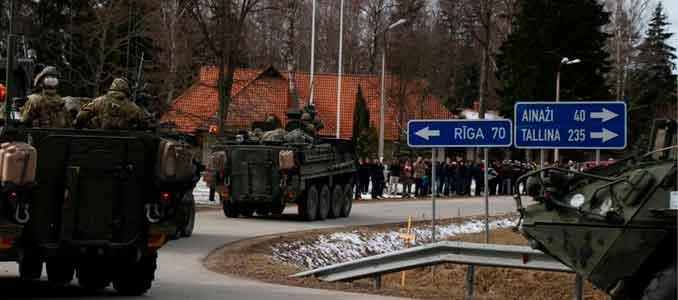 Tropas americanas en Letonia