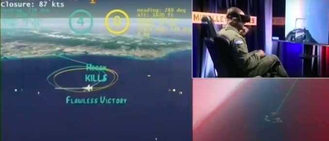 """El piloto de IA de Heron Systems consiguió ganar al instructor del F-16 """"Banger"""" en las pruebas de AlphaDogfight"""