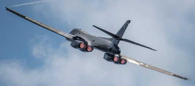 Bombardero Air Force B-1B Lancer