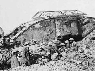 Mark I, primer tanque británico
