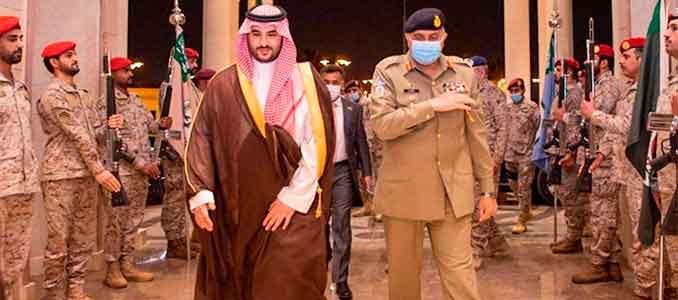 grieta entre Arabia Saudita y Pakistán sobre la India