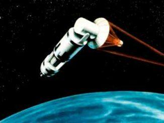 Arma láser basada en el espacio