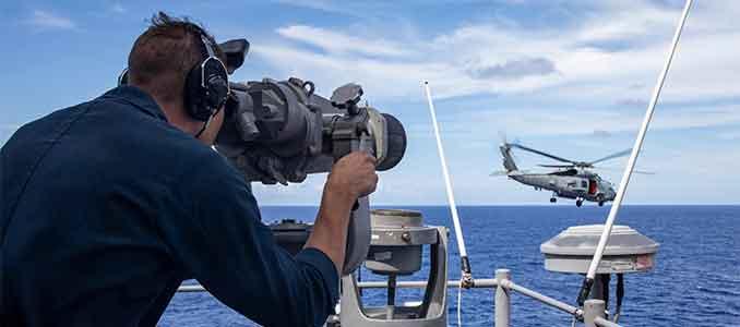caza de submarinos chinos y rusos