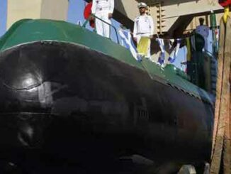 Mini submarino iraní Ghadir