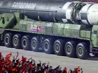 Corea del Norte ICBM