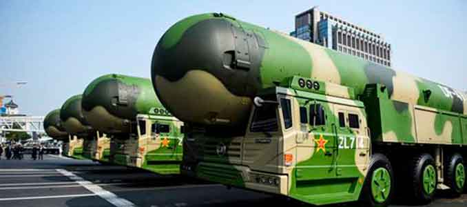 china nuclear weapons