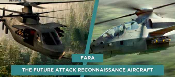 Sikorsky Raider-X (izquierda) y Bell 360 Invictus (derecha)
