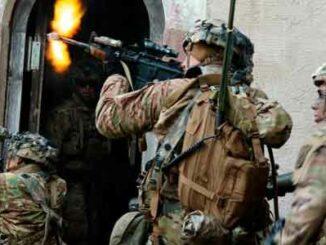 EE.UU. pelotones infantería