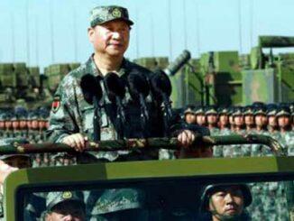 Xi Jinping inspecciona tropas