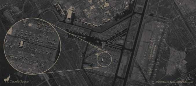 satélite observación