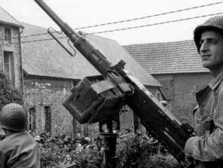 Browning M2HB en Normandía