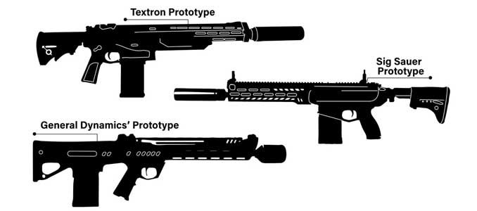 sustituto M4/M16