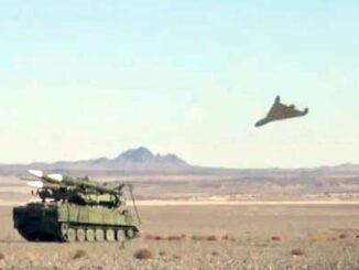Irán aviones no tripulados suicidas