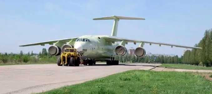 Ilyushin Il-76MD-90A Tactical Airlifter