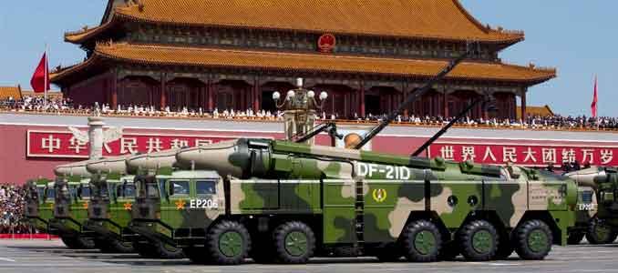 armas nucleares chinas
