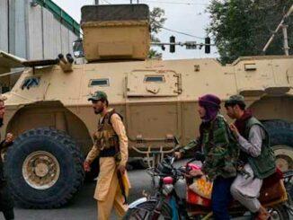 equipo abandonado en Afganistán