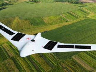 UAV solar