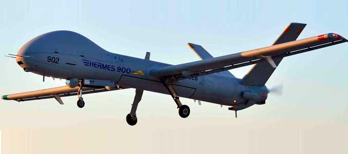 UAV Hermes 900
